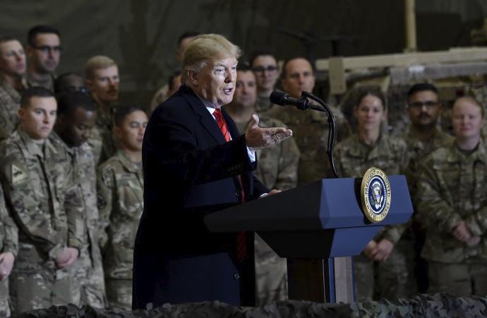 Trump'tan Afganistan'a gizli ziyaret