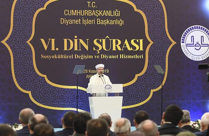 Erbaş: Dini-sosyal teşekküller şeffaf yapıya kavuşturulmalı