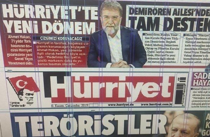 Ahmet Hakan, Hürriyet'in başına getirildi