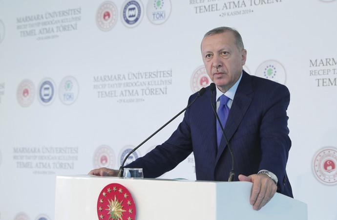 Erdoğan'dan Macron'a: 'Kendi beyin ölümüne bak'