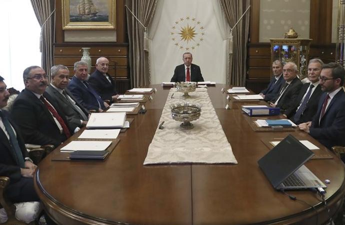 Arınç'ın da dahil olduğu Yüksek İstişare Kurulu toplantısı yapıldı