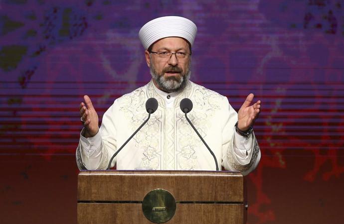 Erbaş, Ankara İlahiyat kutlama töreninde konuştu