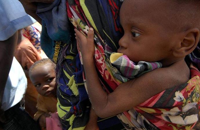 52 milyon Afrikalı açlıkla yüz yüze