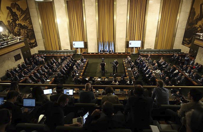 Suriye Anayasa Komitesine 6 ülkeden ortak destek