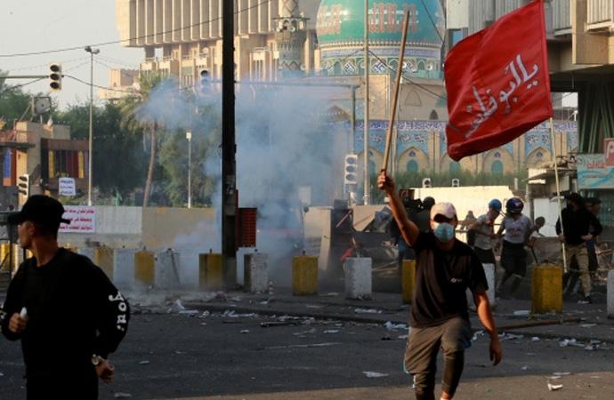 ABD, Irak'taki gösteriler için endişeli!