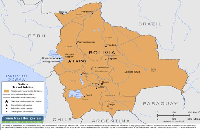 Bolivya siyasi çalkantılarla gündemde