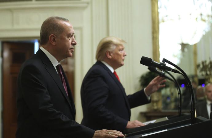 Trump: 'Erdoğan, Türkiye halkı için muhteşem bir iş yapıyor'