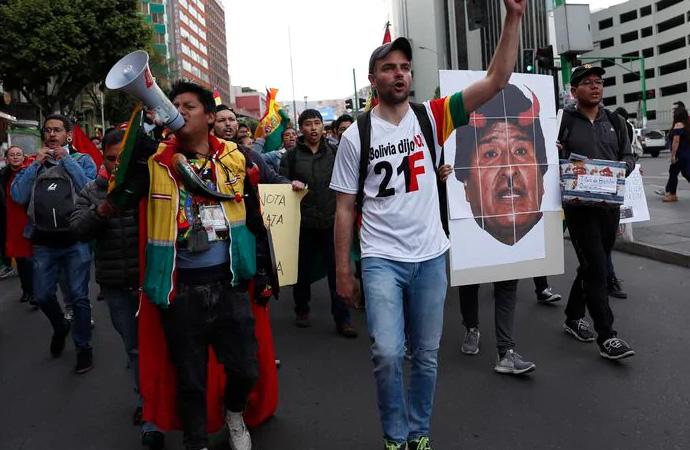 Latin Amerika'daki dönüşüm ve protestolar