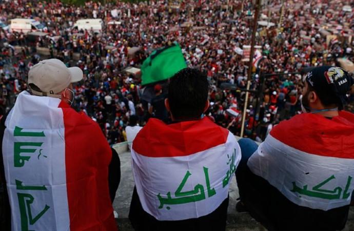 """Irak'ta eylemin adı """"sivil itaatsizlik"""""""