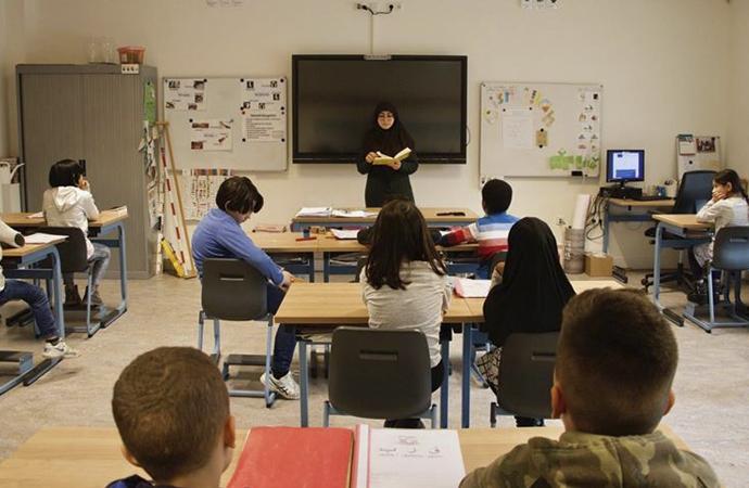 Hollanda'da 'İslami' ilkokullarda başarı durumu