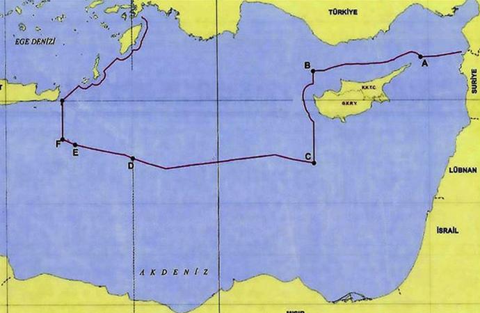 Türkiye'nin Doğu Akdeniz'deki kıta sahanlığı ve MEB sınırları