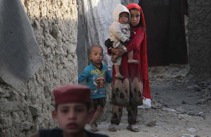 Afganistan'da her gün ortalama 9 çocuk öldü veya sakat kaldı