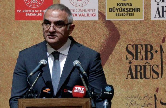 Kültür Bakanı Ersoy'dan Mevlana'nın rehberliğine övgü