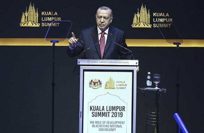 Erdoğan: İslam dünyası güçsüz, zayıf ve asla çaresiz değildir