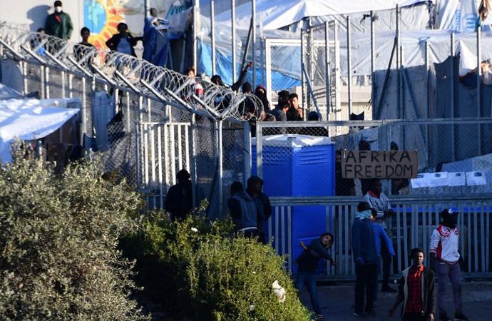 650 kişi için tasarlanan kampta 7 bin 500 sığınmacı