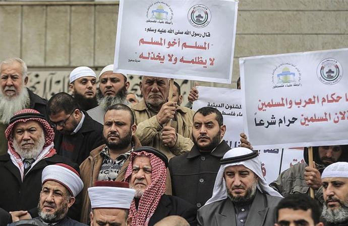Gazze'den Doğu Türkistan'a destek