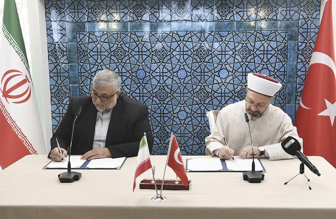 Diyanet İşleri ile İran Kültür İletişim Kurumu arasında protokol