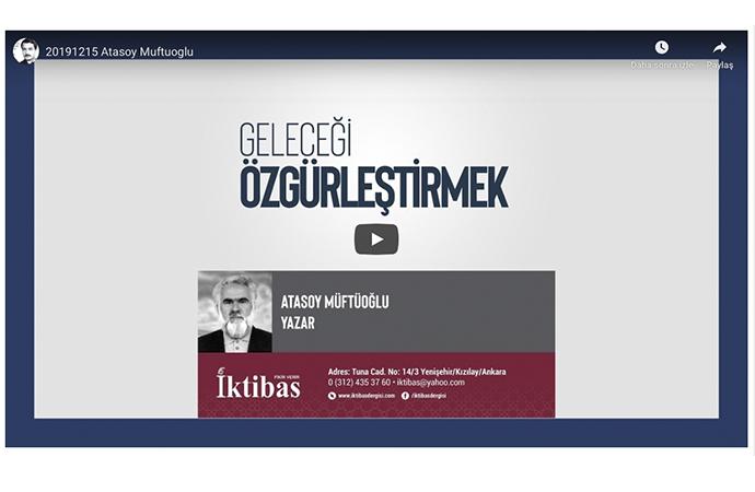 Atasoy Müftüoğlu: Bize dayatılan gerçeklikle yüzleşemedik (özet)