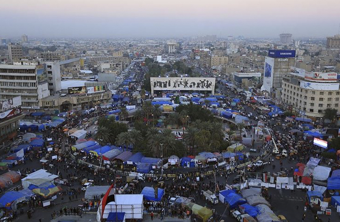 Irak'ta 3 aydır süren gösteriler yıla damgasını vurdu