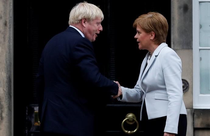 İngiltere İskoçya'nın referandum talebini reddetti