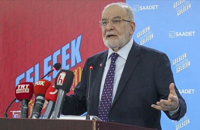Karamollaoğlu: Hafter'in arkasında batılı güçler var