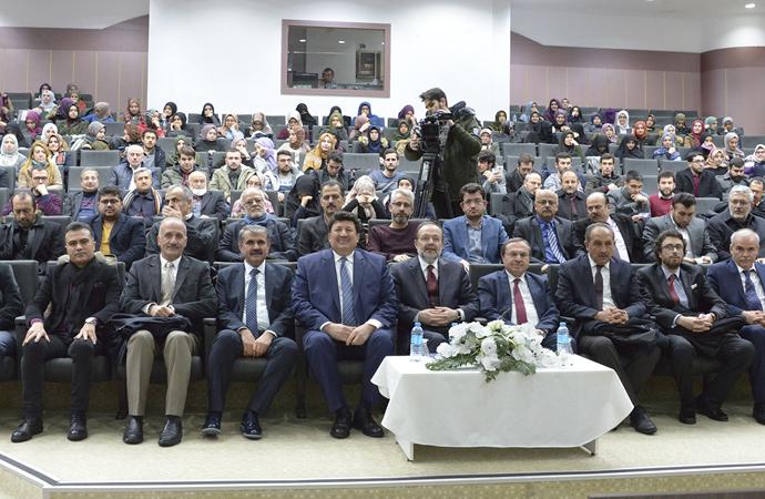 """""""İslam Dünyası İnanç ve Düşünce Sorunları"""" konferansı"""