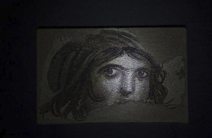 Çingene Kızı mozaiğine ziyaretçi rekoru kırıldı