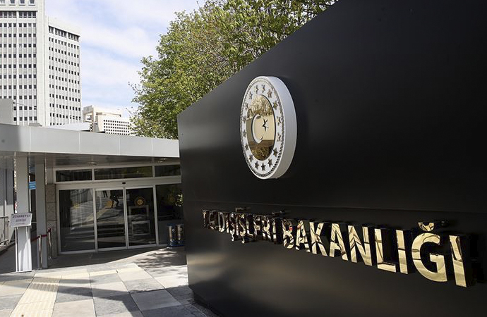Türk Dışişleri Bakanlığı: ABD'nin planı ölü doğmuştur
