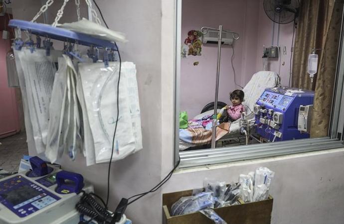 İsrail 51 bin hastanın Gazze'den çıkışına izin vermedi