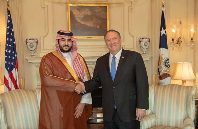 Suudi Arabistan Savunma Bakan Yardımcısı Washington'da