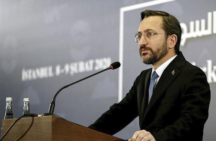 """Altun: """"Suriye'de yaşanan krizin sebebi rejimdir"""""""