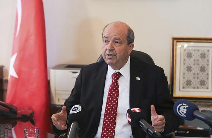 KKTC Başbakanından Cumhurbaşkanı Akıncı'ya tepki