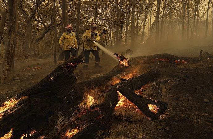 Avusturalya'da yangınlar devam ediyor