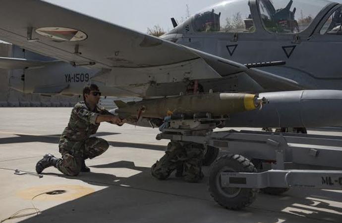 ABD Afganistan'a 2019'da ne kadar bomba attı?