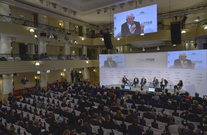 'Batı' varoluşunu Münih'te tartıştı