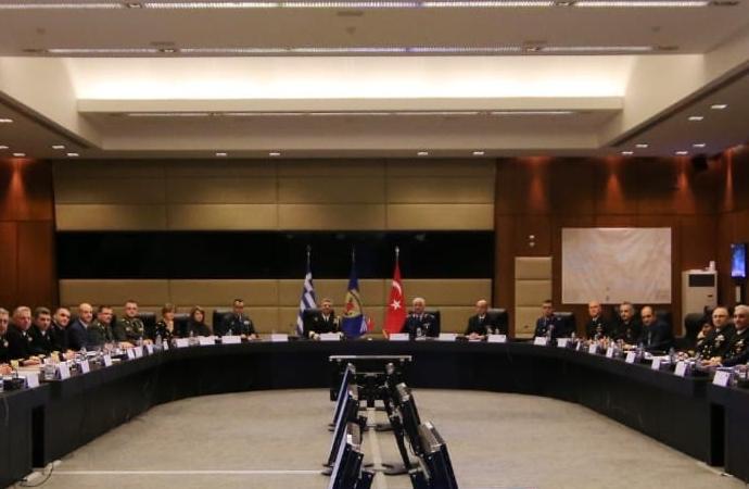 Yunanistan'da askeri heyetlerin görüşmesi tamamlandı