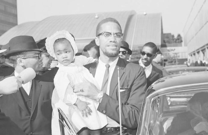 Malcolm X üzerine, kızı İlyasa Şahbaz ile röportaj