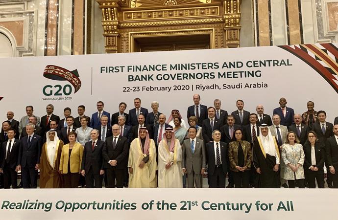 IMF Başkanı'ndan Riyad'da küresel iş birliği çağrısı
