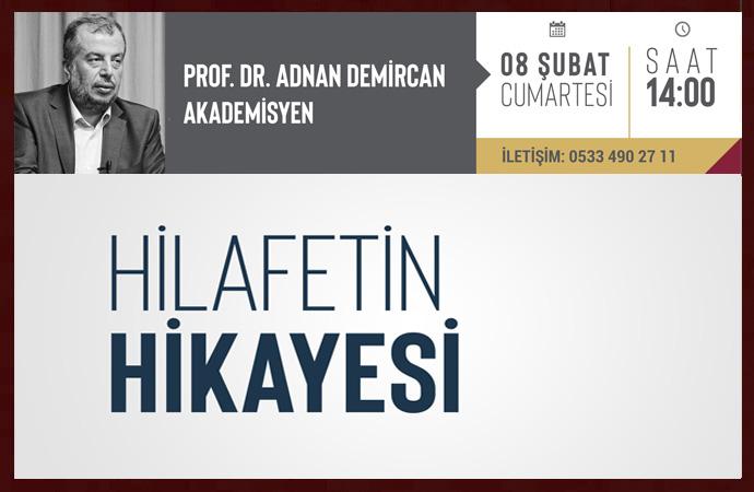 Prof.Dr. Adnan Demircan bugün İktibas'ta