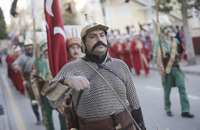 İspanya'da Türkiye'yi Mehteran Birliği temsil etti