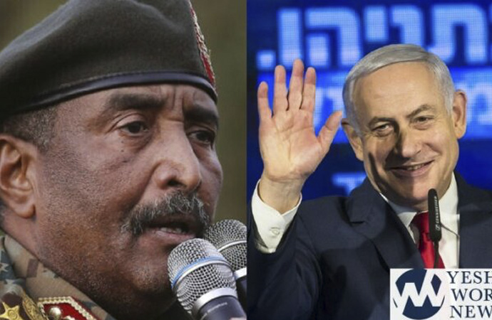 Sudan-İsrail görüşmesini kim organize etti?