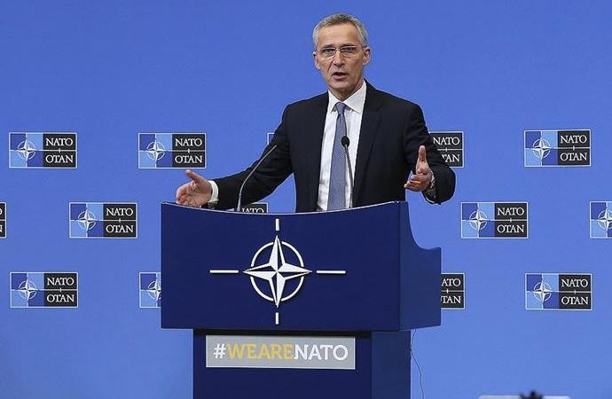 Nato Sekreteri'nden Esad ve Rusya'ya kınama