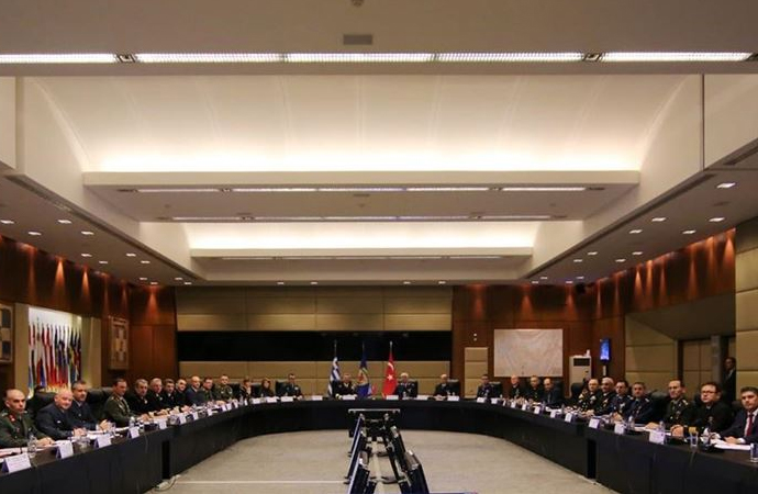 Türk-Yunan Savunma Bakanlığı heyetleri arasındaki görüşmeler 12 gün sürdü
