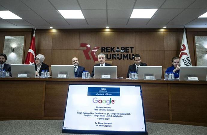 Google'dan Rekabet Kurulu önünde sözlü savunma