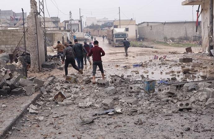 Esed rejimi güçleri İdlib'de 7 yerleşimi daha ele geçirdi