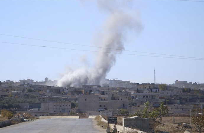 İdlib'de bombardıman devam ediyor!
