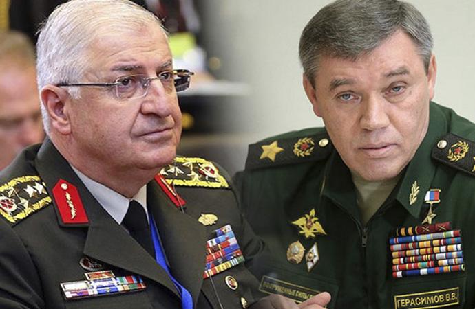 Güler-Gerasimov arasında telefonda İdlib görüşmesi