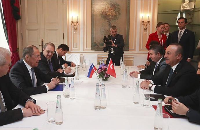 Çavuşoğlu-Lavrov ile görüşmesi