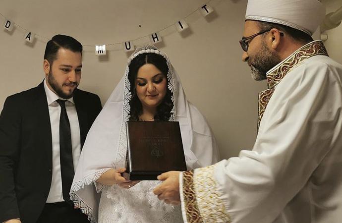 Kilise Bakanlığının izni ile İmam nikahı başladı
