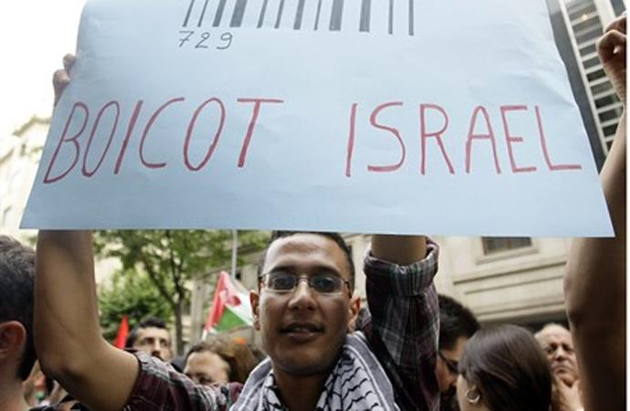 İsrail boykota boykotla karşılık verecek